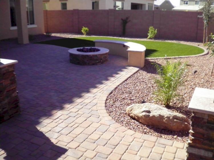 35 Beautiful Arizona Backyard Ideas On A Budget Large Backyard Landscaping Desert Landscaping Backyard Arizona Backyard Landscaping