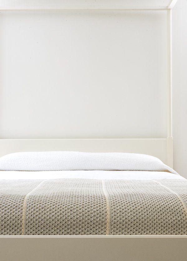 Granny Stripe Blanket in Cotton Pure | Purl Soho | Tuto Crochet ...