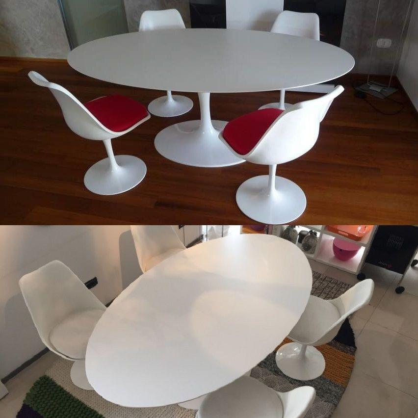 Tavolo Tulip Saarinen Ovale | Tavoli moderni nel 2019 | Home Decor ...