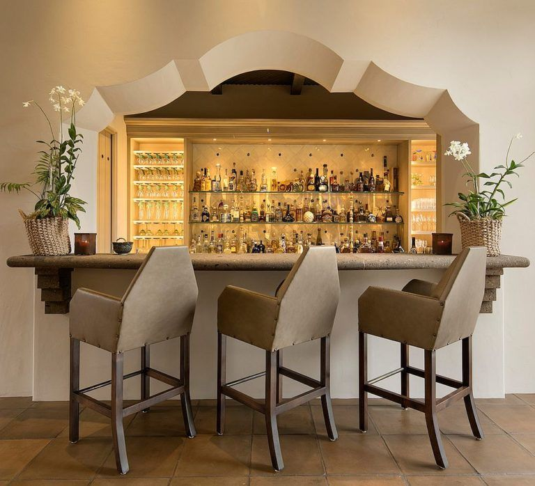 Interior Design Ideas Home Bar: Magically Timeless: Mediterranean Home Bars That Wow With