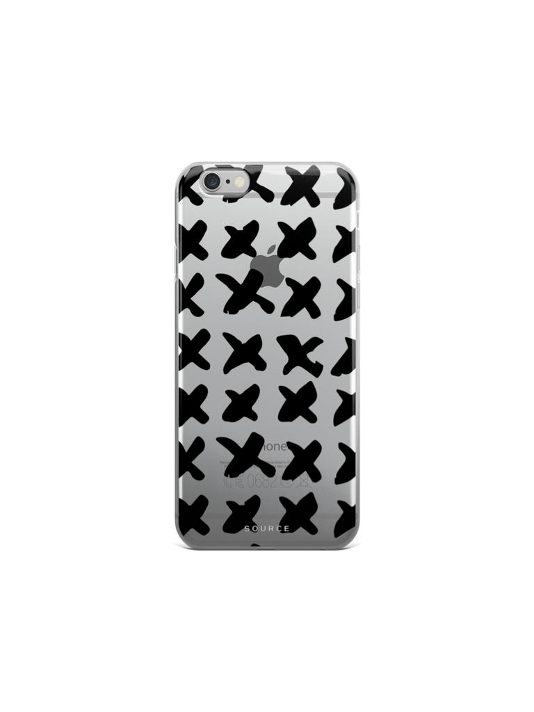 Cross Pattern   iPhone Case #graphicprint #uniqueiphonecase #minimalist #patterncase #giftsforher
