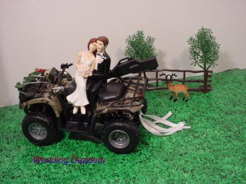 4 wheeler wedding cake toppers this will be my wedding cake topper if i get married 4 10428