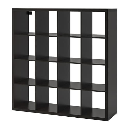 Kallax Shelf Unit Black Brown 57 7 8x57 7 8 Ikea Ikea Expedit Bookcase Kallax Ikea Shelving