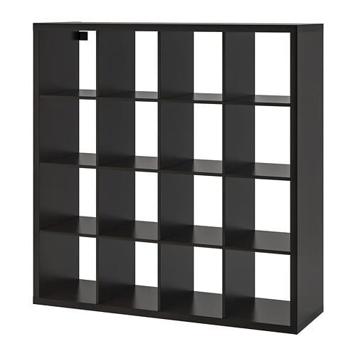 Kallax Shelf Unit Black Brown 57 7 8x57 7 8 Ikea Expedit