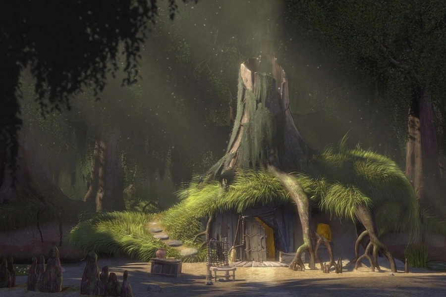 99 Funny Zoom Virtual Backgrounds To Download Man Of Many Background Film Set Shrek