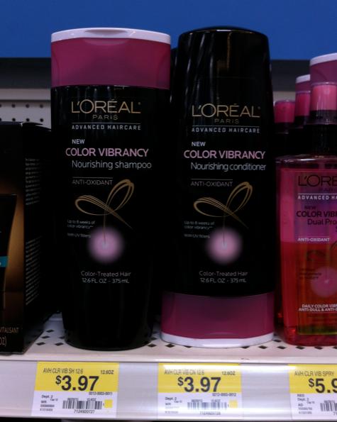 Walmart L'Oreal Advanced Hair Care Shampoo & Conditioner
