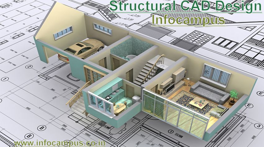 Structural cad design training the design stages involved for Structural interior design