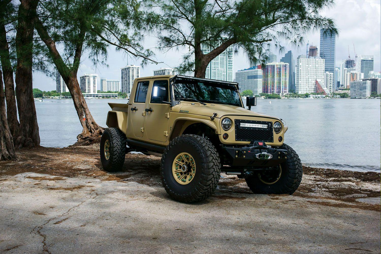 Jeep Truck Jk Crew Conversion Jeep Truck Jeep Jk Jeep