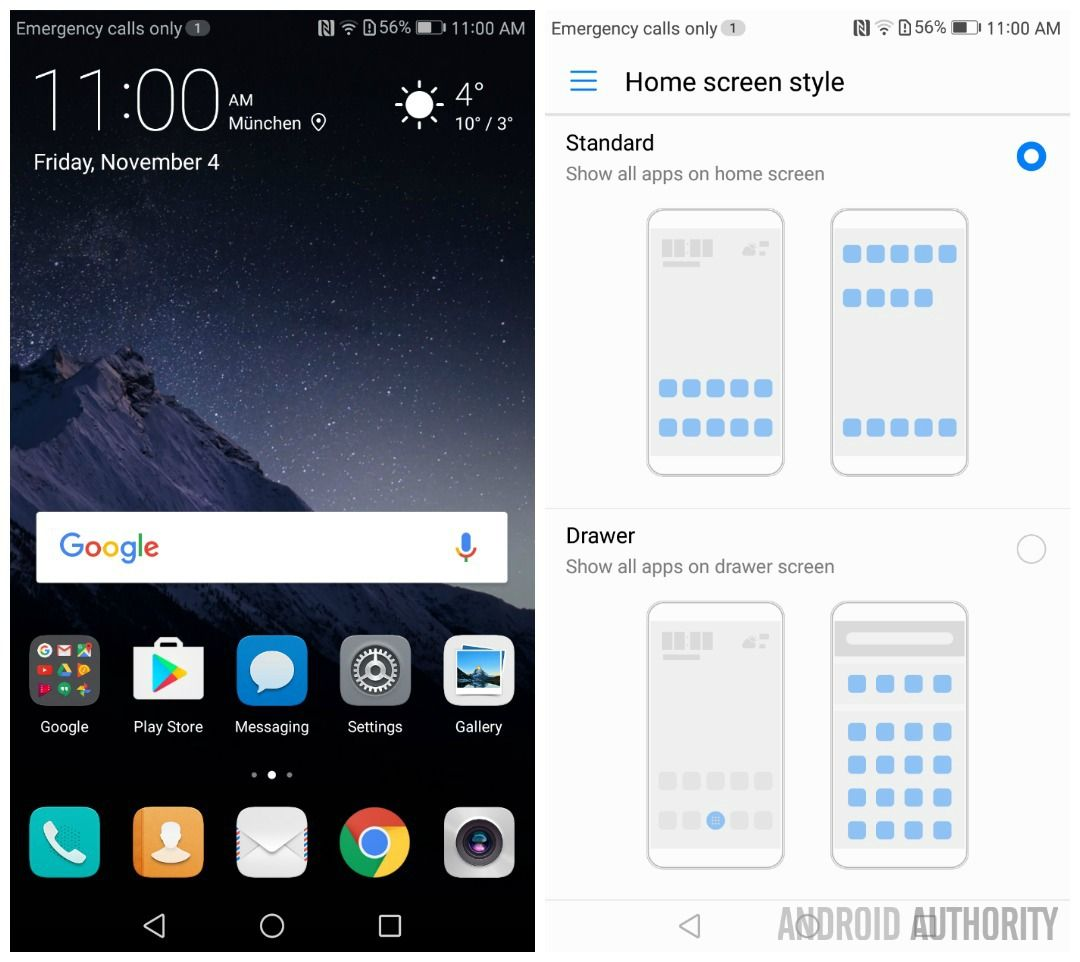 What's new in EMUI 5? Homescreen, Bbc good food recipes