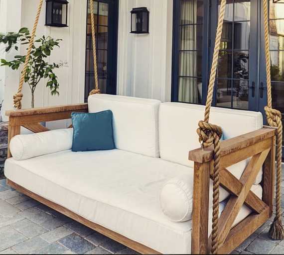 Porch Swing Cover White Mattress Cover Outdoor Bed Twin Mattress Cover Indoor Outdoor Sunbrella Mattress Cover Day Bed Sheet Porch Offwhite Porch Swing Bed Diy Porch Swing Farmhouse Porch Swings