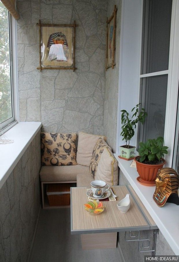 30 классных идей для маленького балкона: как оформить ...
