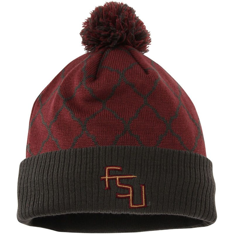Florida State Seminoles Top of the World Women's Diamond Dust Knit Hat - Garnet