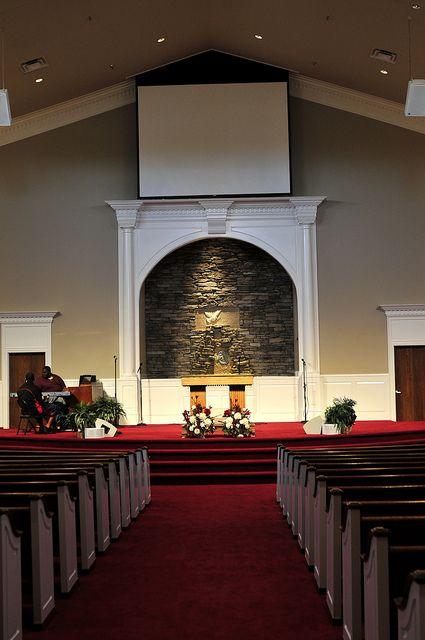 Sanctuary In Stones River Church Church Interior Design Church