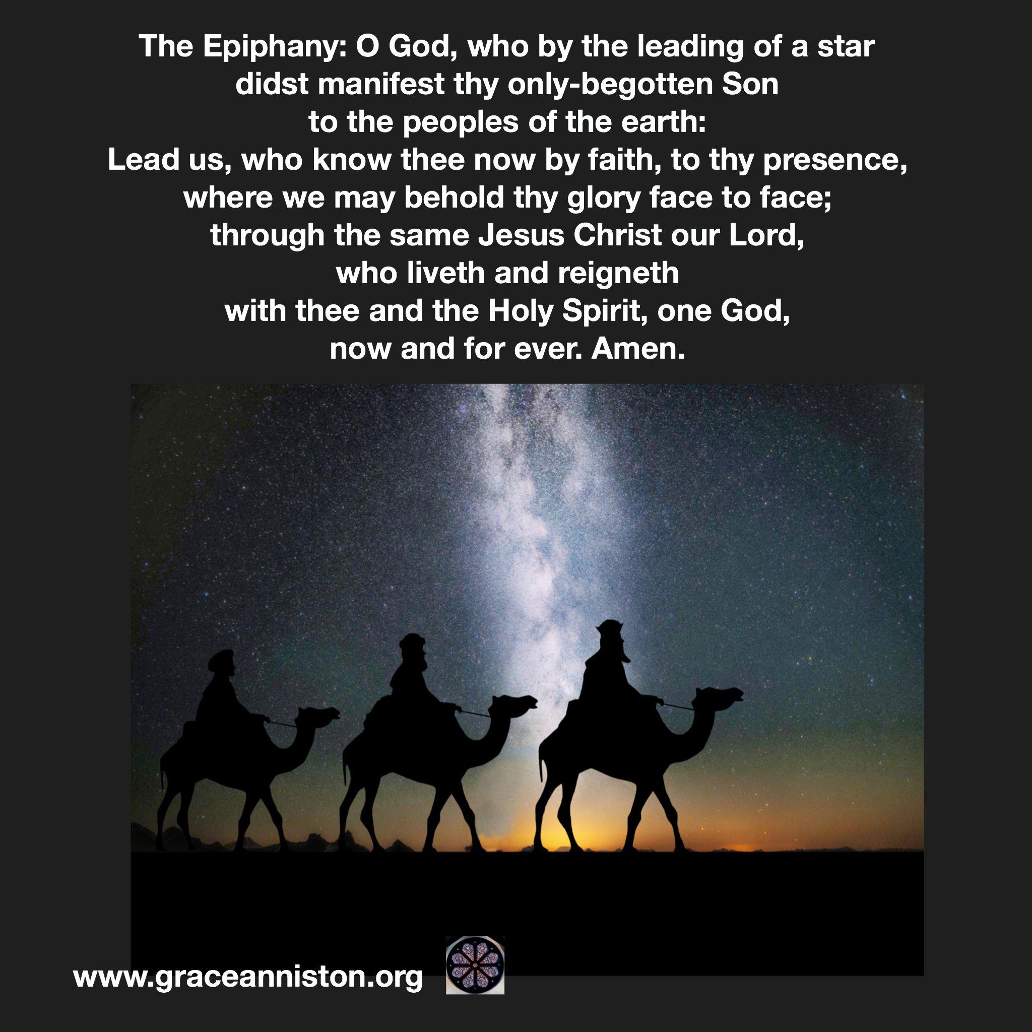 Epiphany prayer | Prayer photos, Epiphany, Prayers