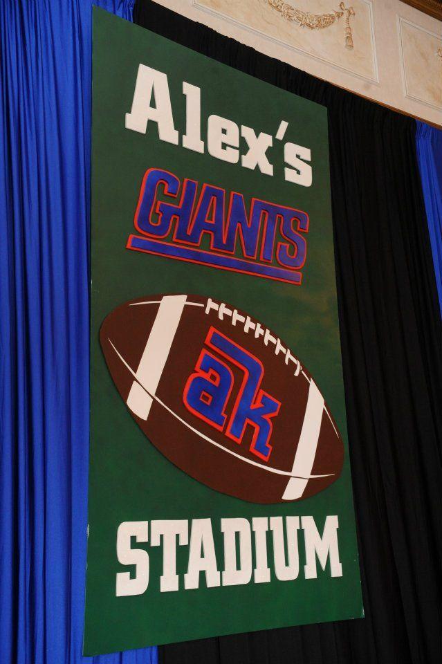 Giants Theme Bar Mitzvah