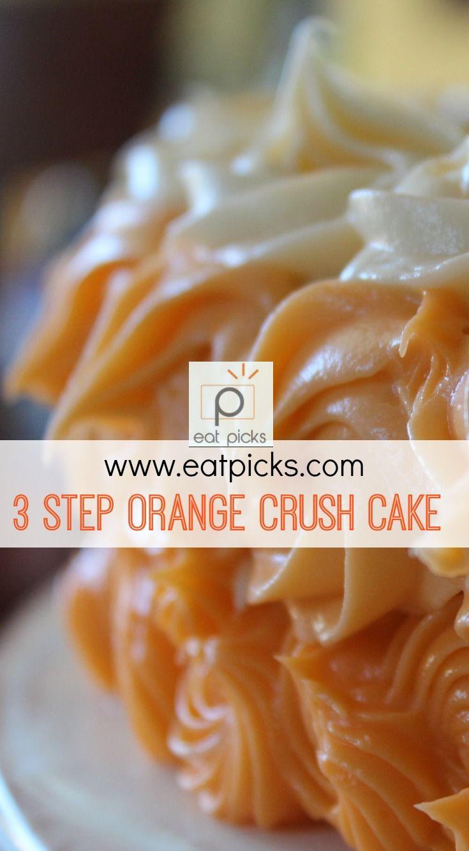Orange crush cake is a deliciously easy recipe with orange