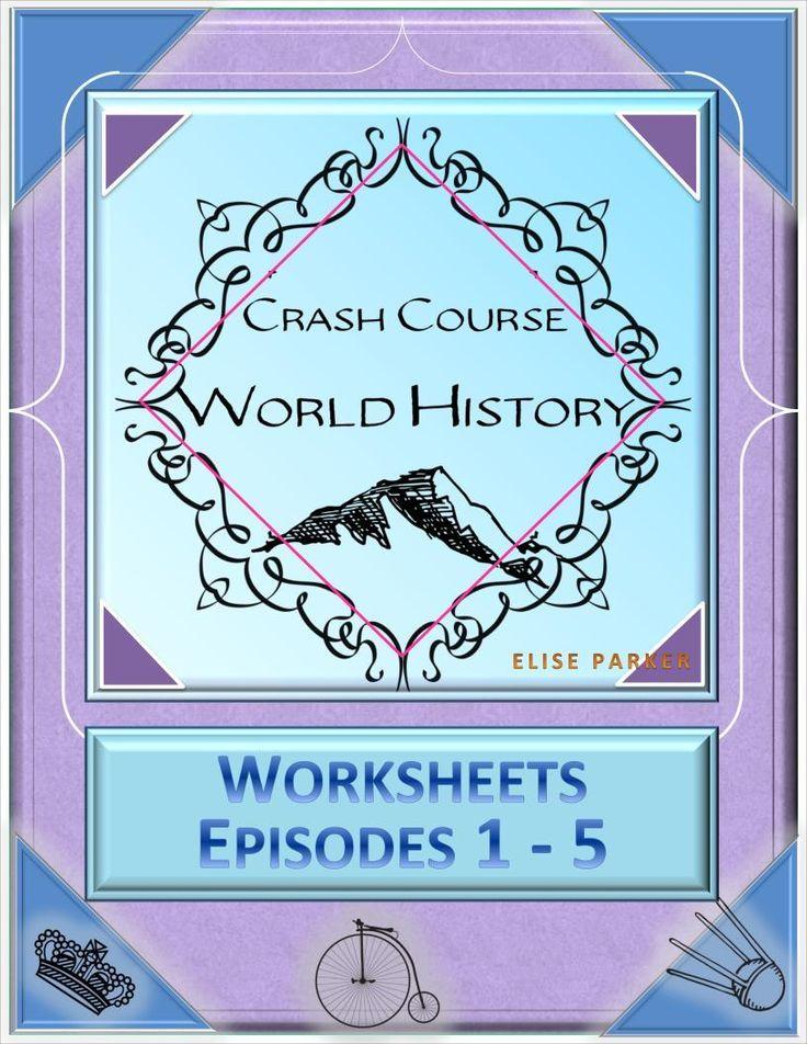 Crash Course World History Worksheets Episodes 1 5 Agricultural