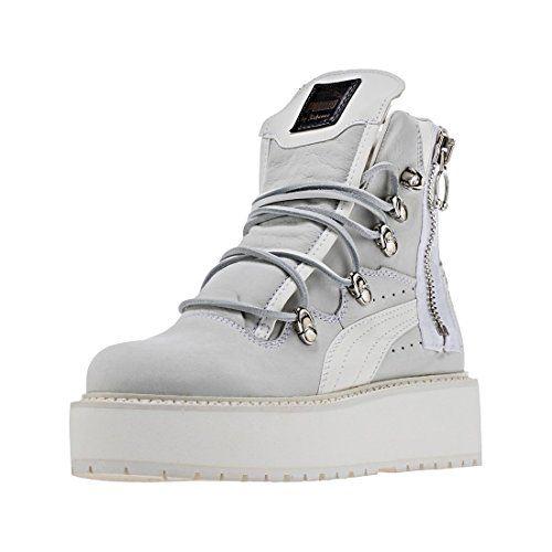 f08cf586e8523 Pin by esh g on all me in 2019 | White puma sneakers, Sneaker boots ...