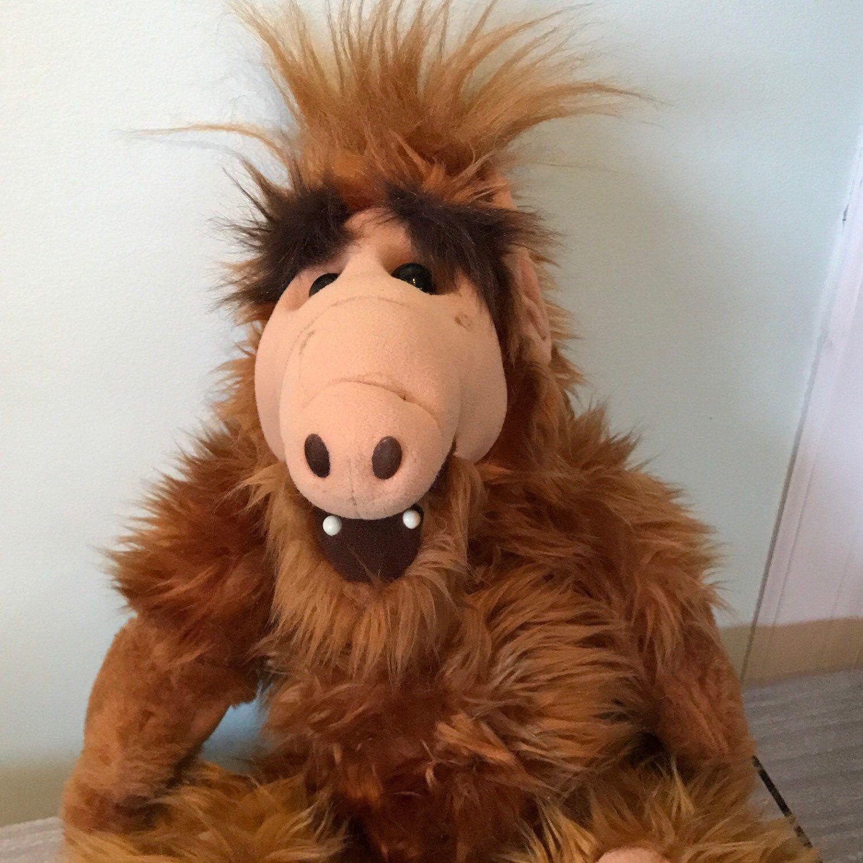 1986 Alien Productions Full Size Alf Doll Plush Gordon