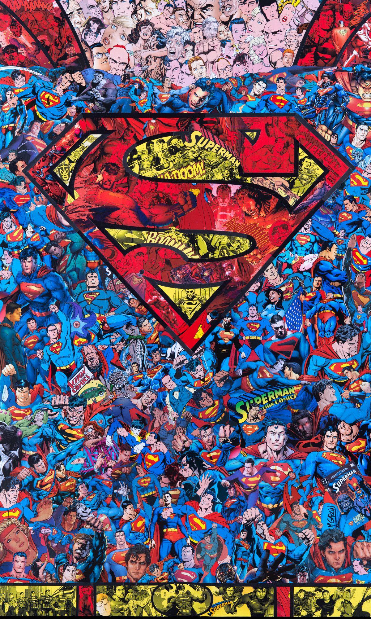 Geek Art M Garcin Flash And Superman CollagesOn Continue Sur La Lancee Des