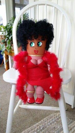 Betty Boop By Ginny U0026 39 S Crafts