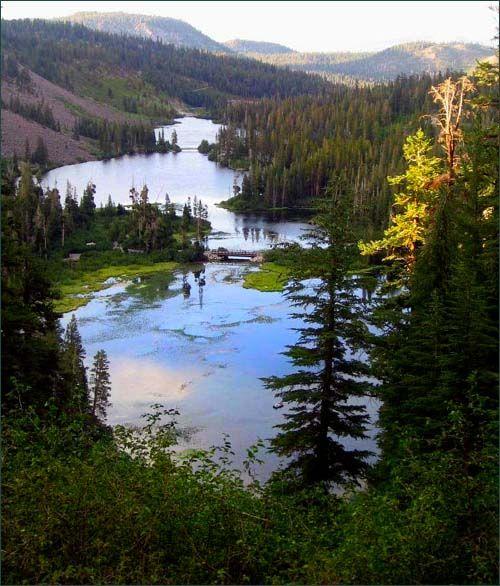 twin lakes, mammoth ca - favorite camping spot!
