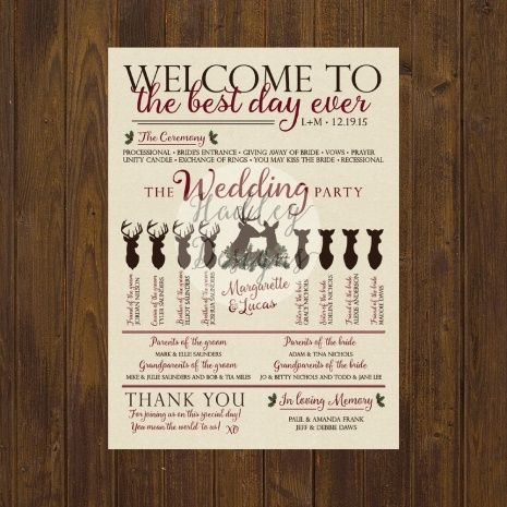 program ideas for wedding wedding ideas pinterest wedding and