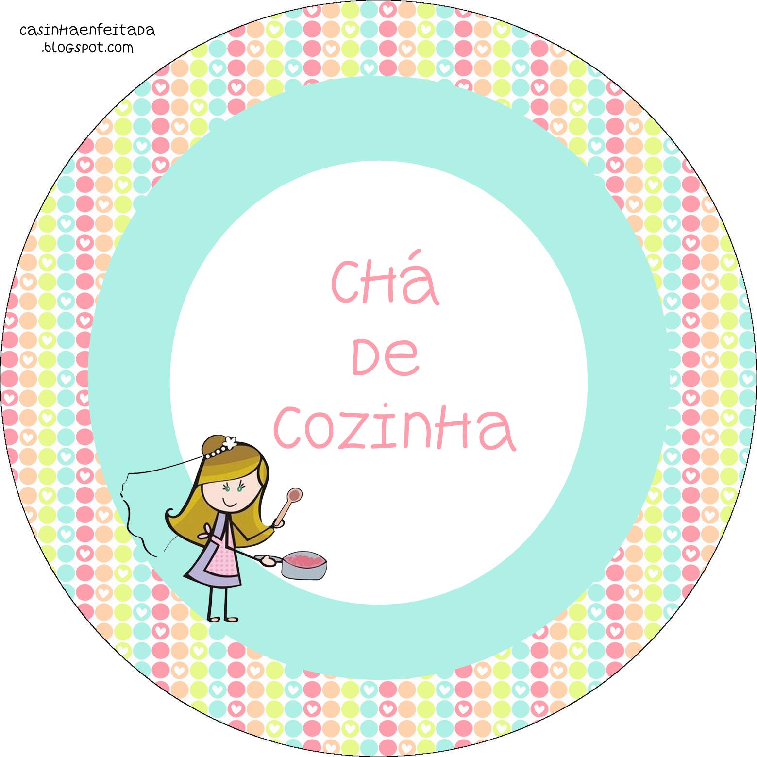 Princesas De Branco Kit Cha De Cozinha Para Imprimir Cha De