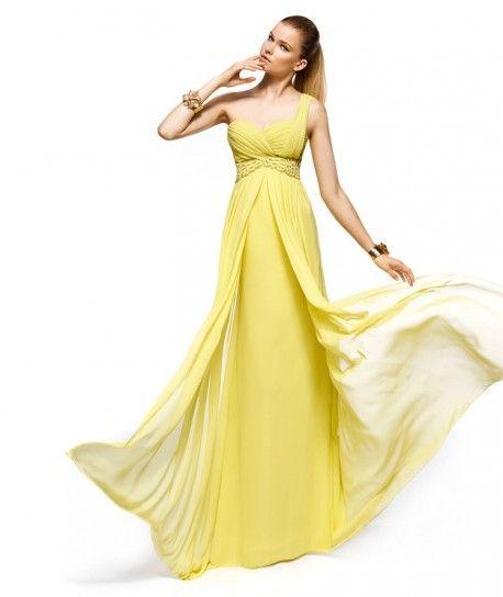 vestiti gialli lunghi