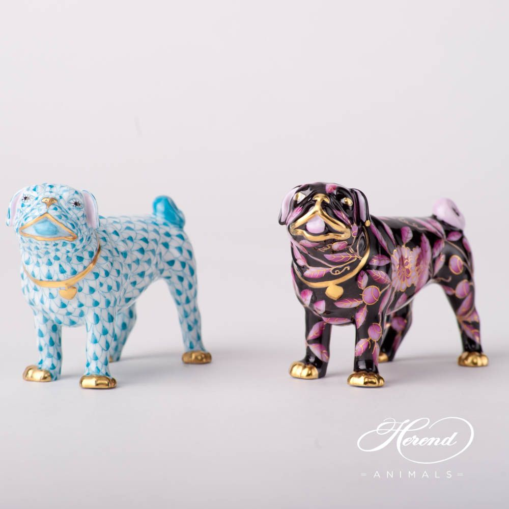 Dog - Pug Lola in 2019 | Dogs for Herend lovers | Porcelain