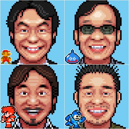 Itbit Famous Video Game Designers And Their Creations By Tanb - Famous video game designers