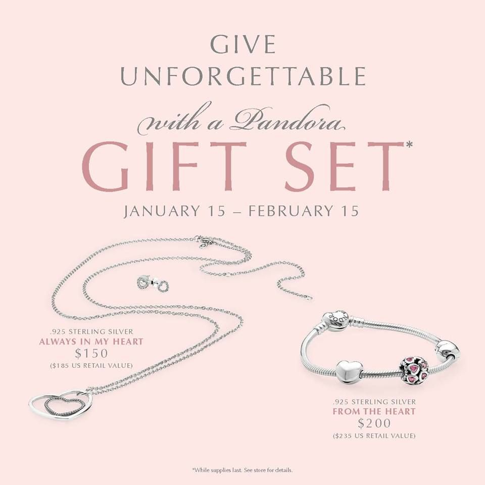 2015 PANDORA Valentine Gift Sets available online at www ...