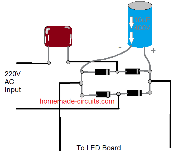 Converting a Dead CFL into an LED Tubelight Electronic