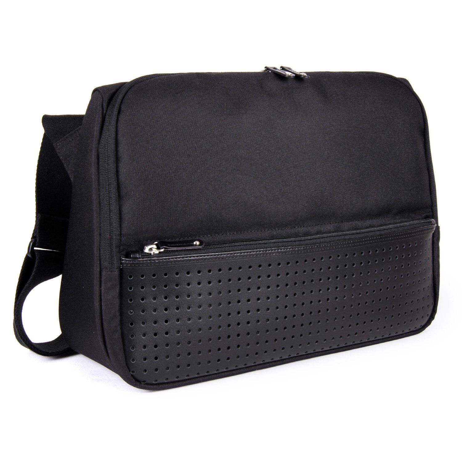 2b11867d5eb2 FINEDAYS Triangle Commuter Bag by BZLStudio  Up to 15 inch Laptop Messenger  Bag (Black