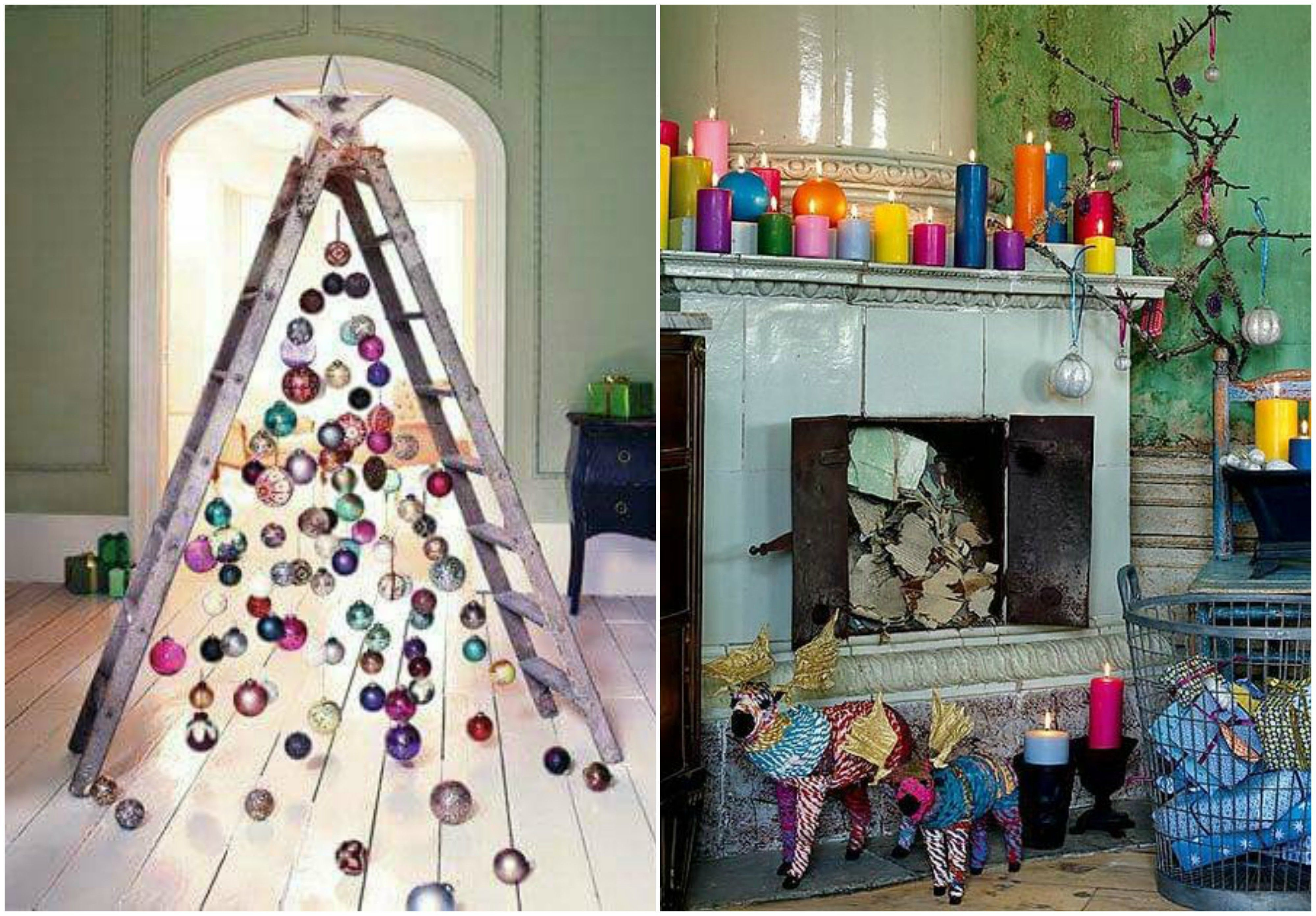 20 Quirky Ways To Decorate Your First Apartment For Christmas In 2020 Christmas Shop Window Boho Christmas Christmas Decorations