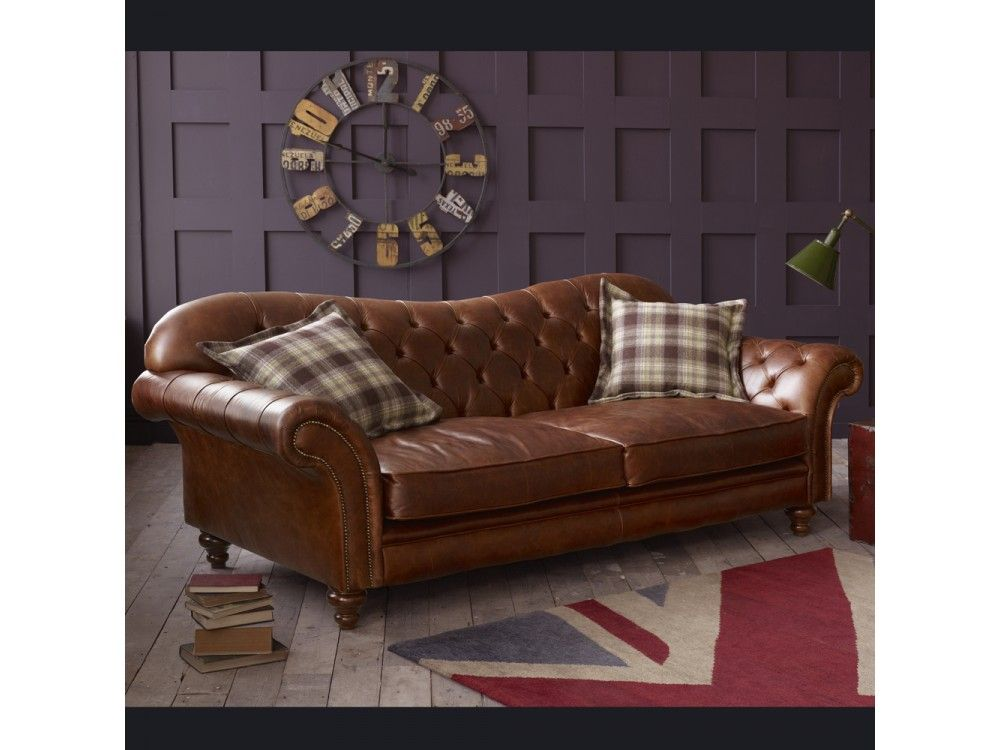 The Crompton Vintage Brown Leather Chesterfield Sofa   Manchester  Http://www.thechesterfieldcompany Part 69