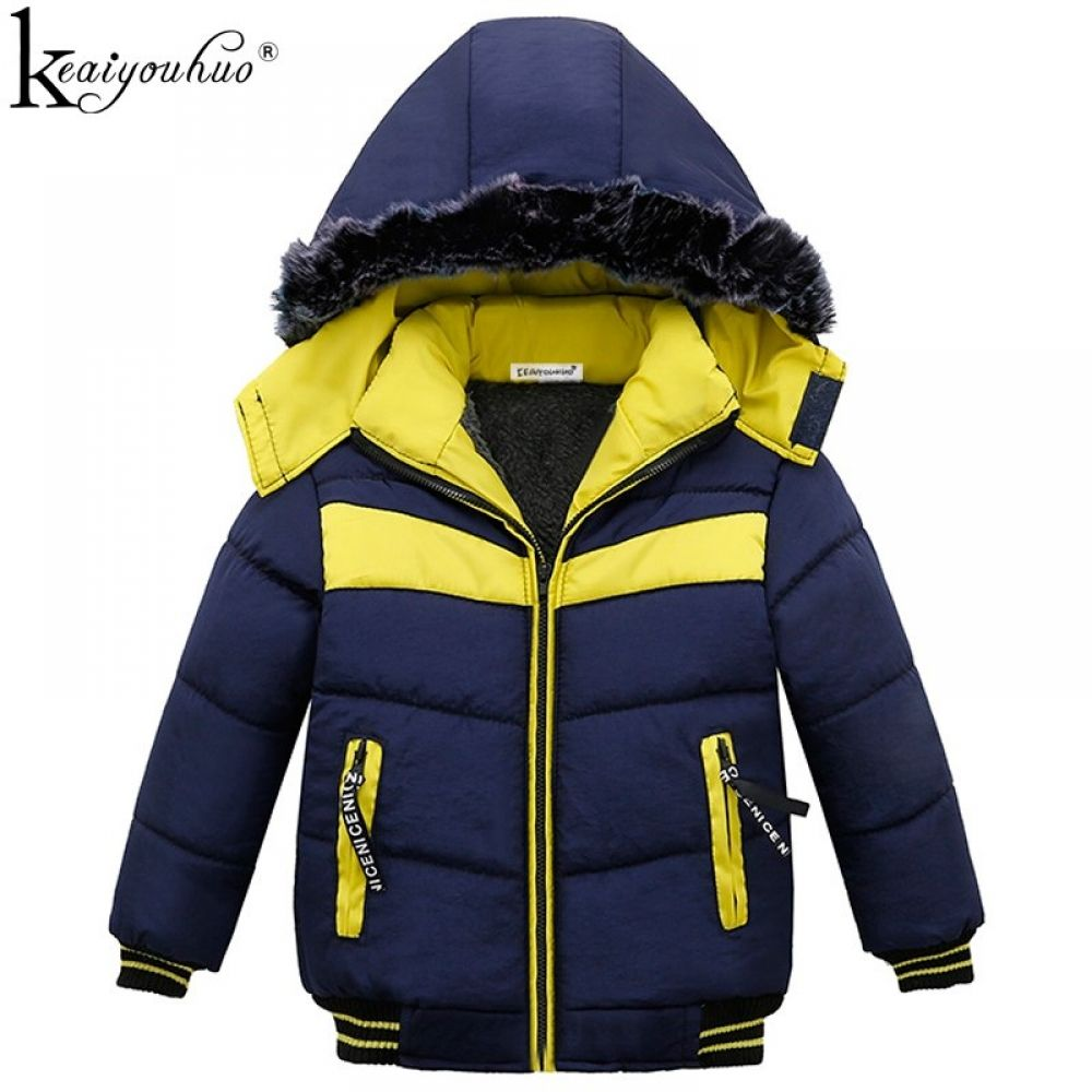 3fdfe97ee5fa KEAIYOUHUO Winter Boys Coat Children Clothes Long Sleeve Kids Coats ...