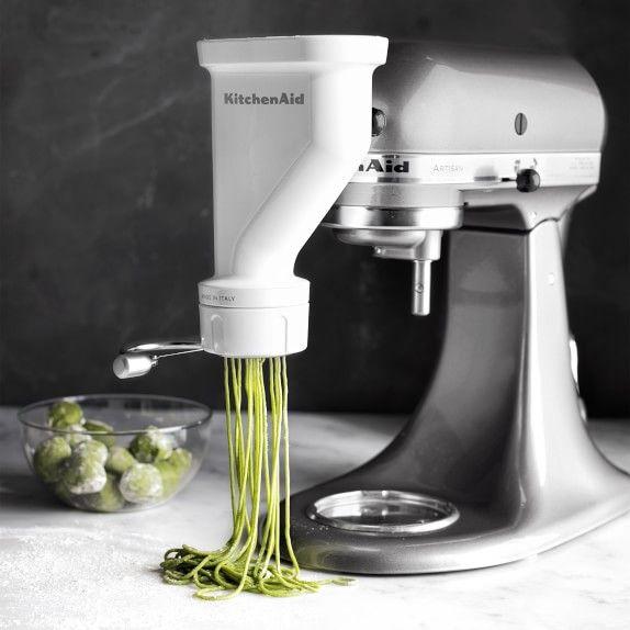 Kitchenaid Gourmet Pasta Press Attachment Recipe In 2021 Pasta Press Gourmet Pasta Kitchen Aid