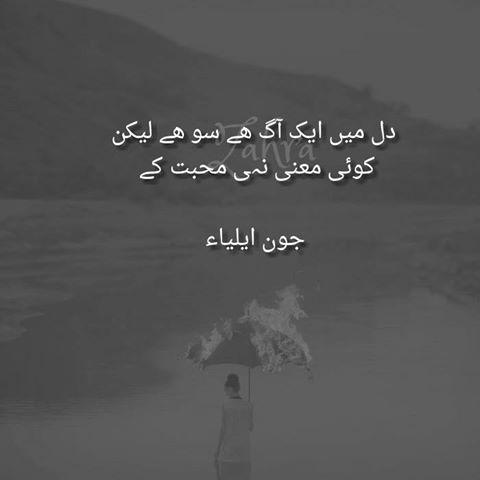 Pin by Samie Ansari on jaun elia | Poetry quotes, John ...