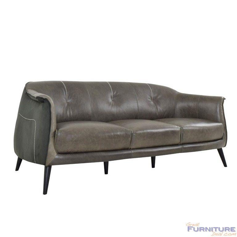 Attrayant Classic Home Furniture   Martel 3 Seater Sofa Wolf/Char   2101SF21