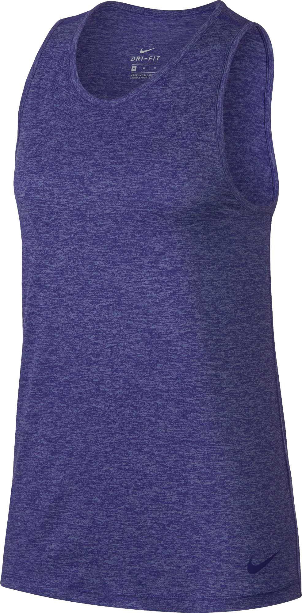 f8c592b28 Nike Women's Dry Tomboy Cross-Dye Tank Top, Size: XS, Fusion Violet/Htr