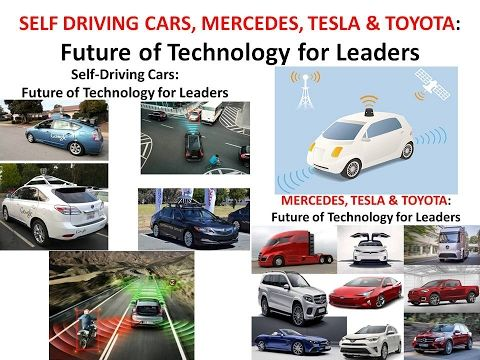 FUTURE OF TECHNOLOGY: SELF DRIVING CARS, MERCEDES, TESLA and TOYOTA