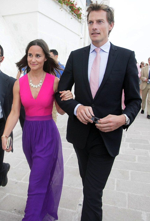 Vip Guests Prince Harry Pippa Middleton And Her Boyfriend Nico Jackson Attend Close Friend S