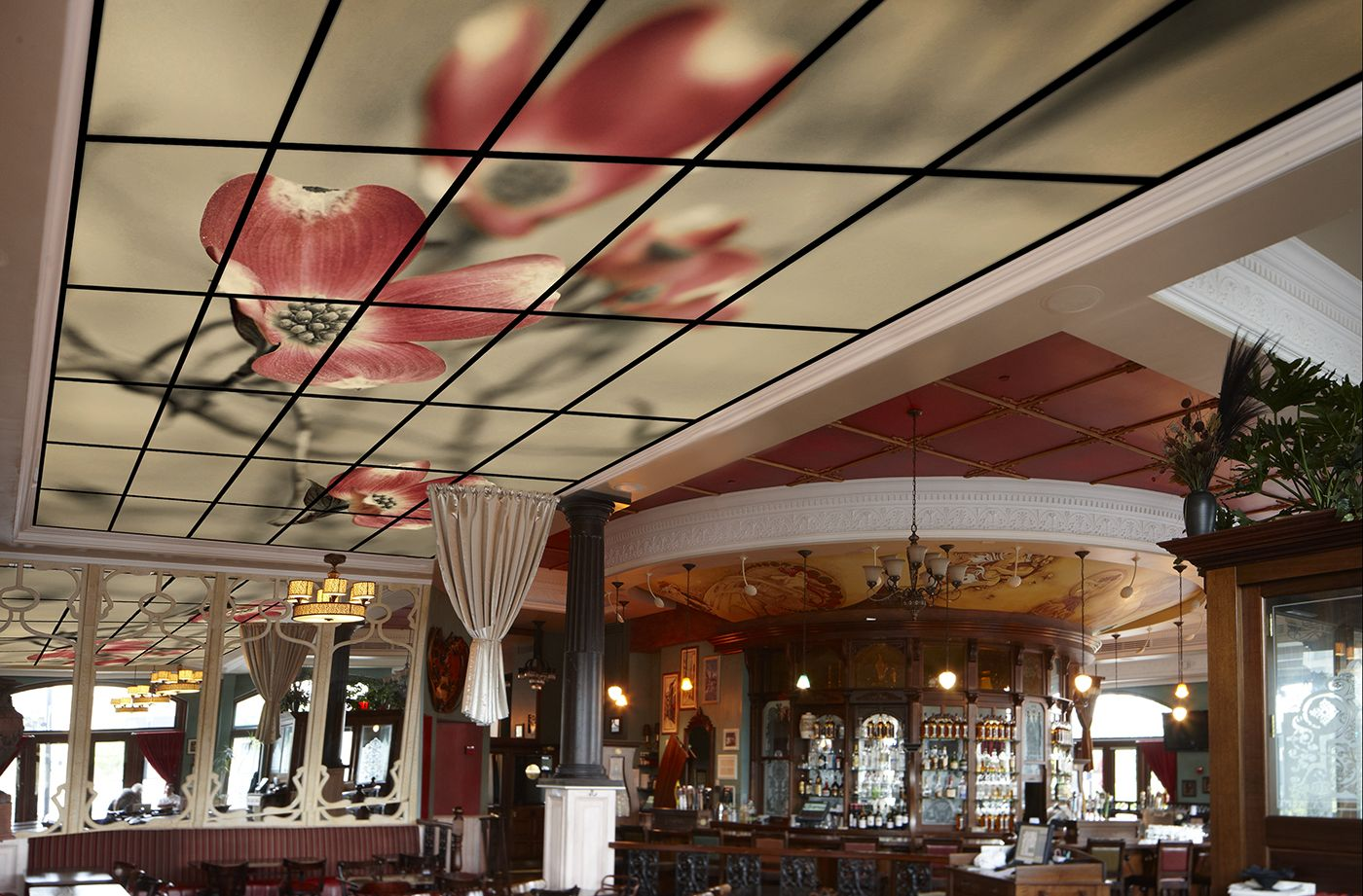 Thumbnail acoustic ceiling tiles stretch a single image across thumbnail acoustic ceiling tiles stretch a single image across the expanse of your drop grid dailygadgetfo Images