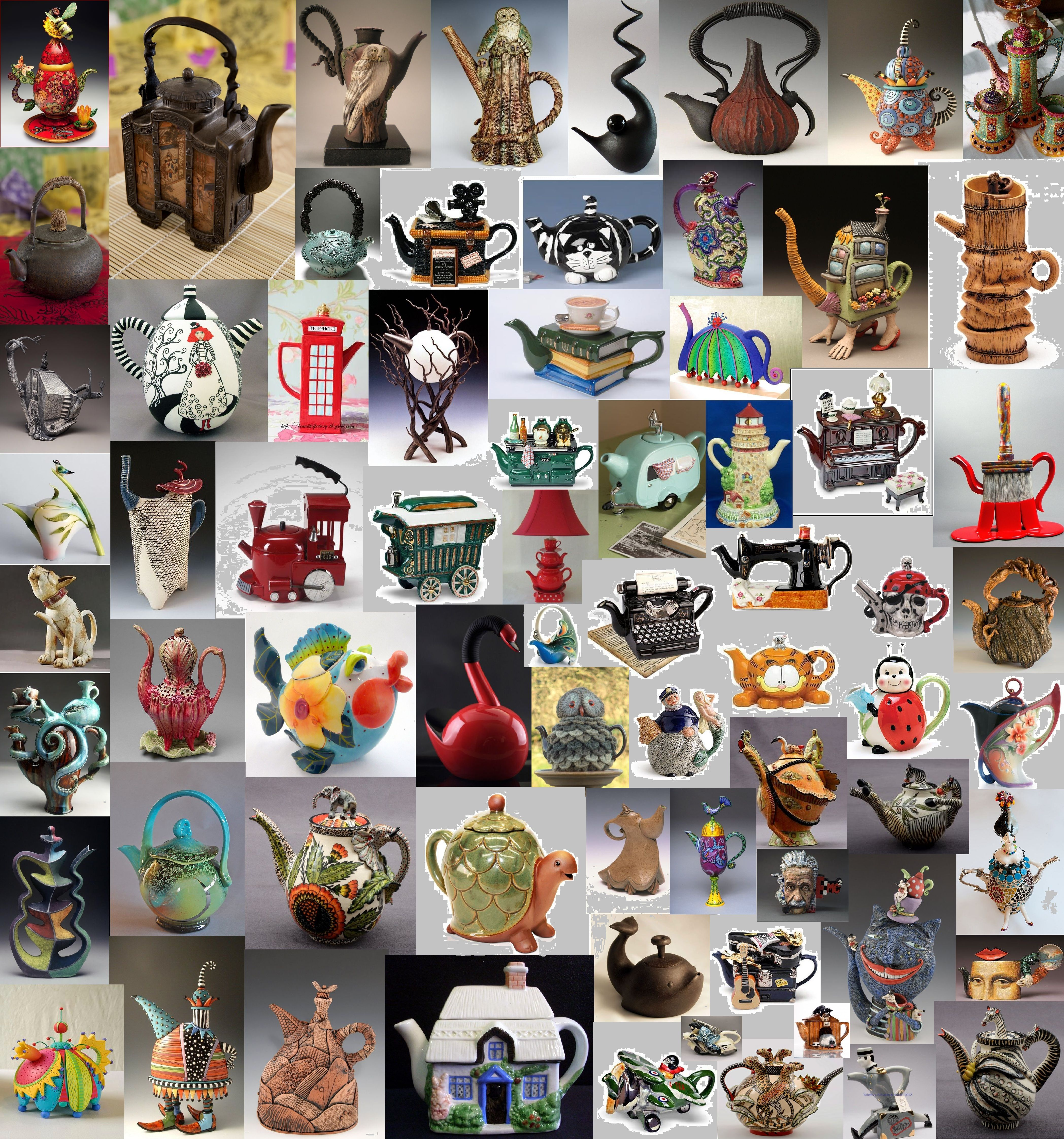 some fun teapots from around the world