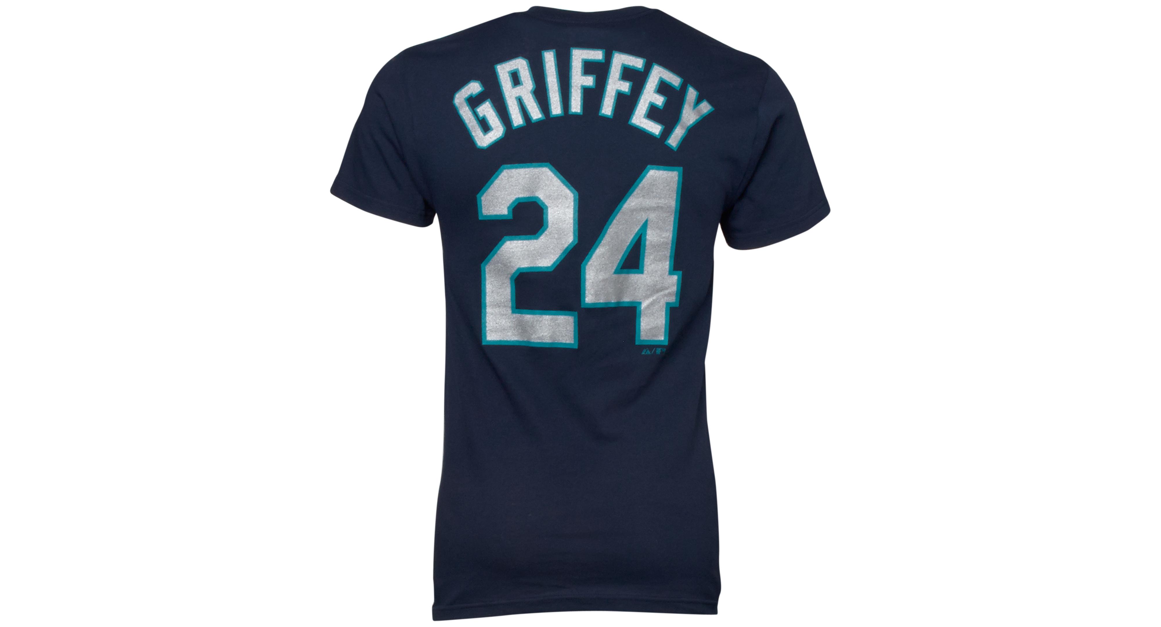 factory price 8408a 64768 Men's Seattle Mariners Ken Griffey Jr. Player T-Shirt ...