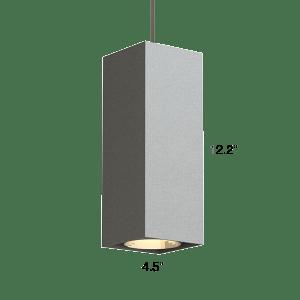 Qube 300 Lx Pendant Q3lp Suspended Lighting Fixtures Small
