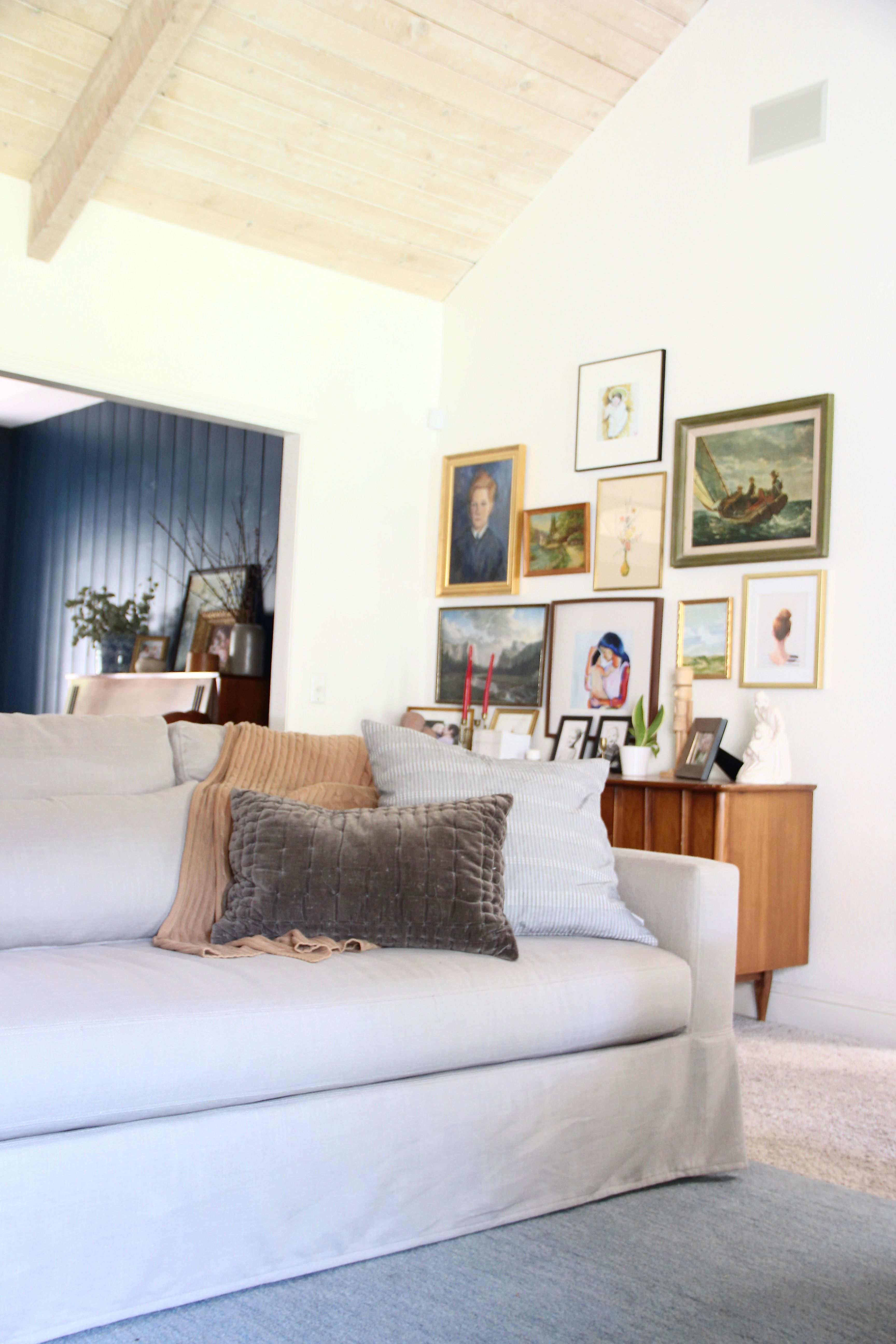 Our New Pottery Barn Couch (and how we picked it)! The