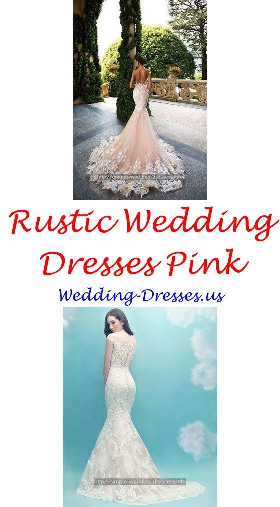 Modern Wedding Dresses Pearl Flower