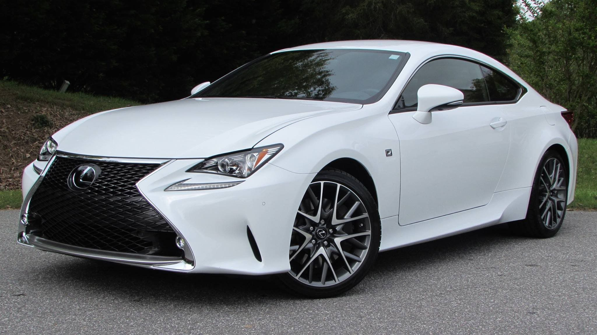 2015 Lexus RC350 F-Sport Start Up, Road Test, and In Depth Review